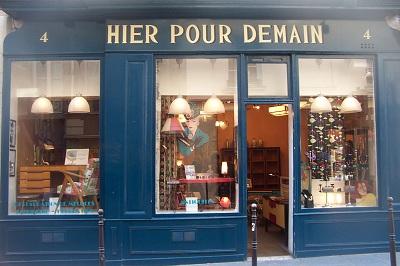 Hier pour Demain 4 rue des Francs Bourgeois 75003 paris